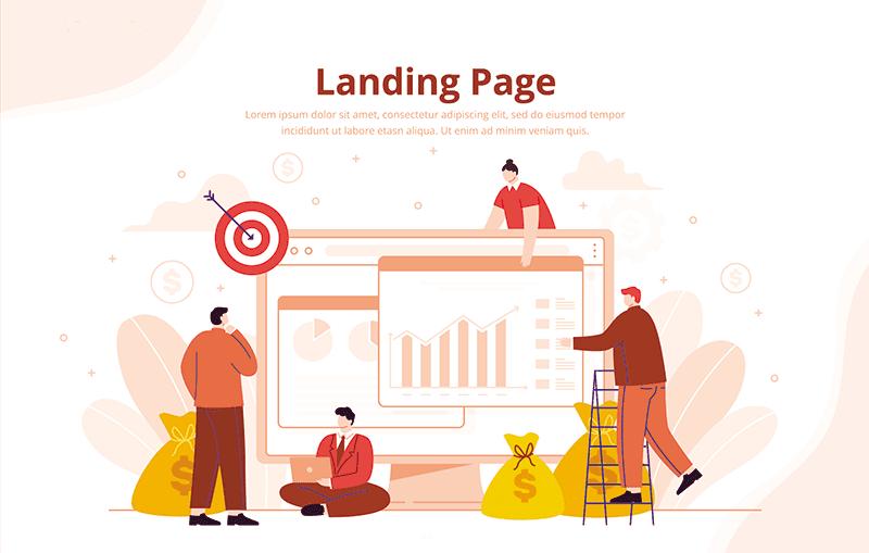 significado de una landing page