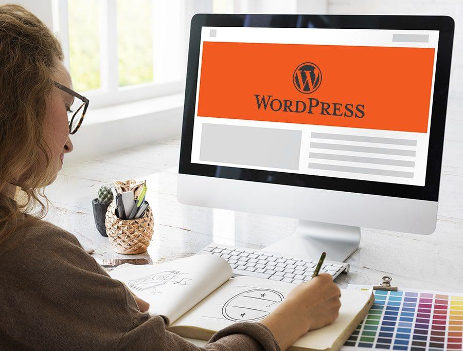 Como hacer una pagina en WordPess